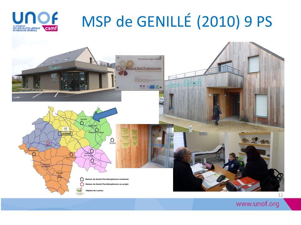 MSP de GENILLÉ (2010) 9 PS
