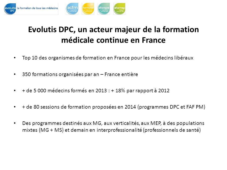 Evolutis DPC, un acteur majeur de la formation médicale continue en France