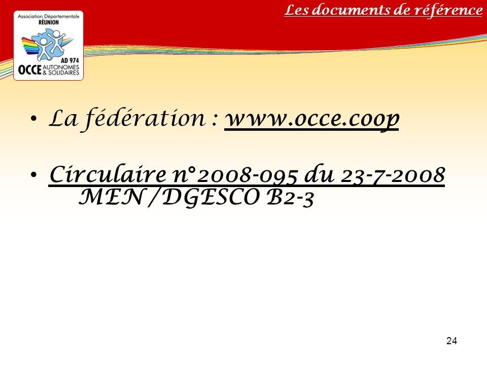 La fédération : www.occe.coop