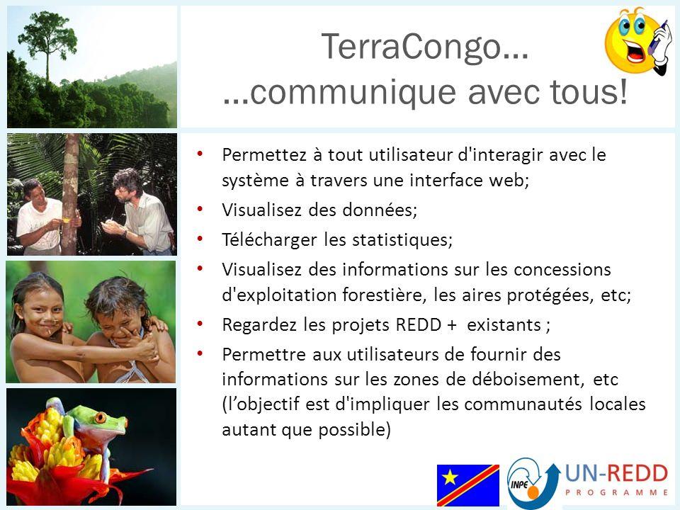 TerraCongo… …communique avec tous!