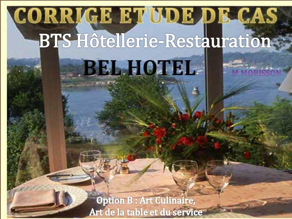 CORRIGE ETUDE DE CAS BEL HOTEL
