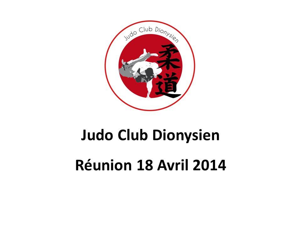 Judo Club Dionysien Réunion 18 Avril 2014