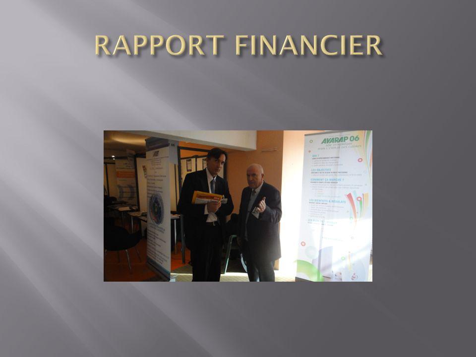 RAPPORT FINANCIER