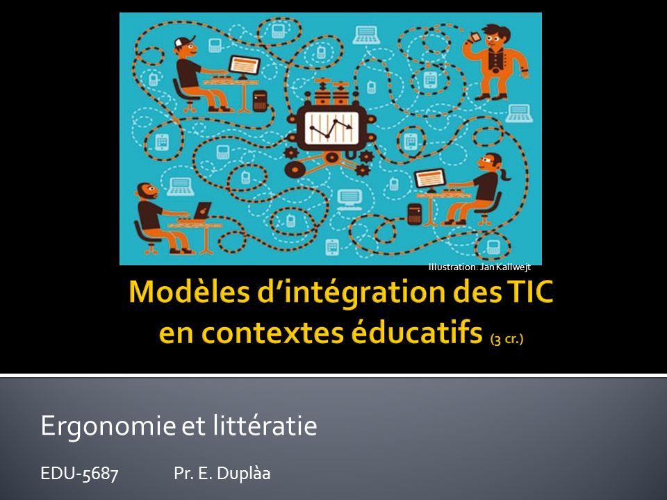 Modèles d'intégration des TIC en contextes éducatifs (3 cr.)