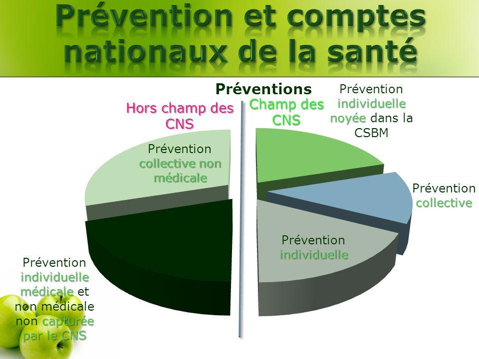 Prévention et comptes nationaux de la santé