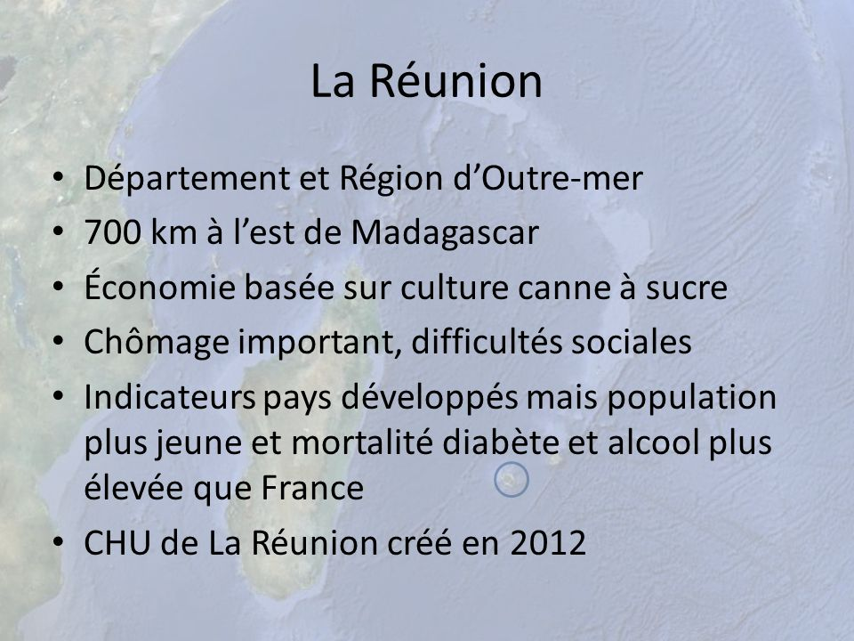 La Réunion Département et Région d'Outre-mer