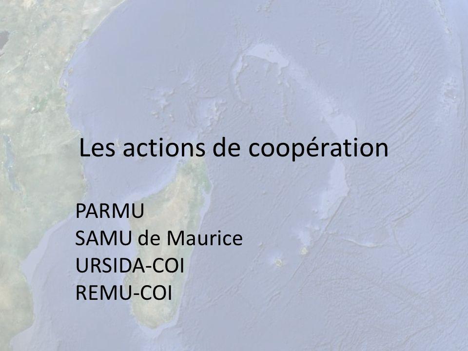 Les actions de coopération