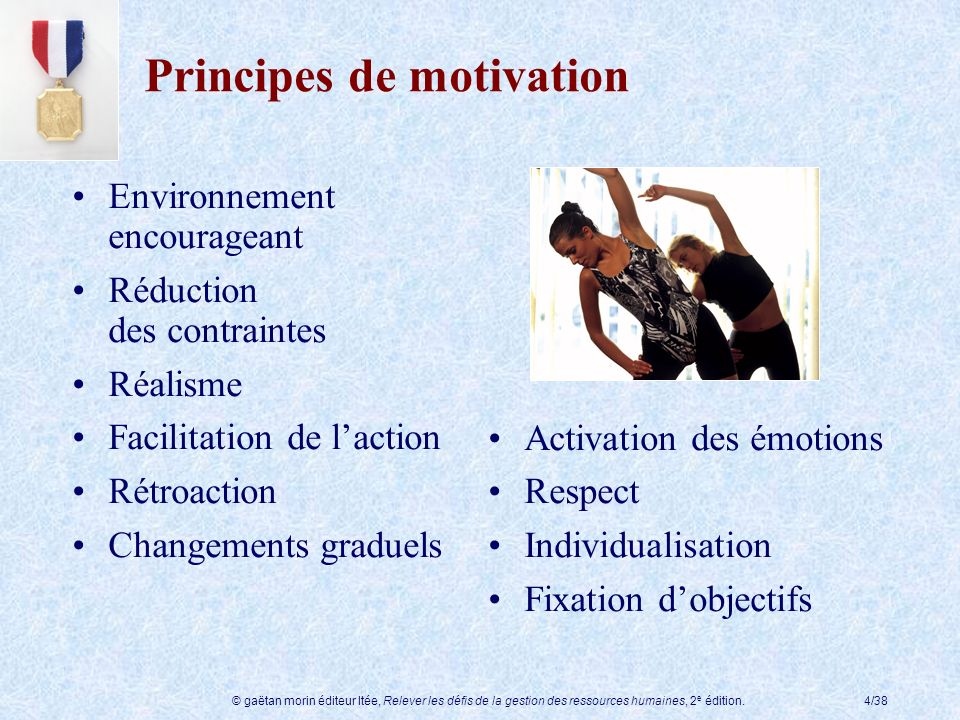 Principes de motivation