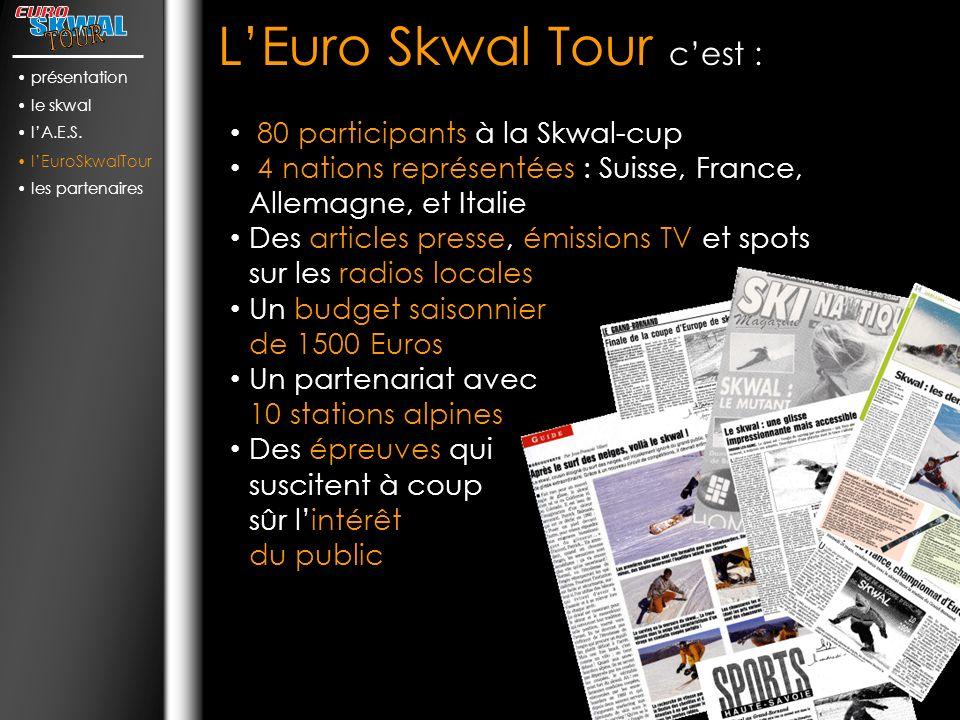 L'Euro Skwal Tour c'est :