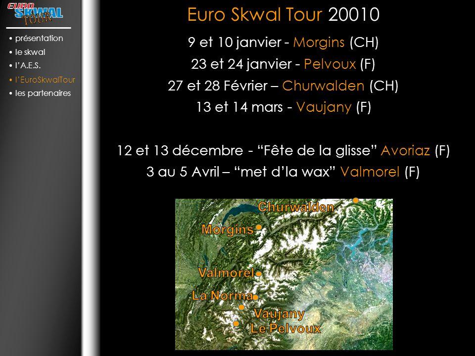 Euro Skwal Tour 20010 9 et 10 janvier - Morgins (CH)