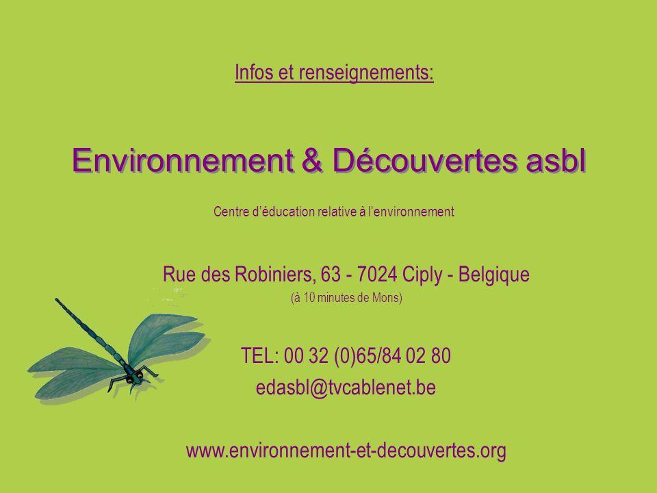 Environnement & Découvertes asbl