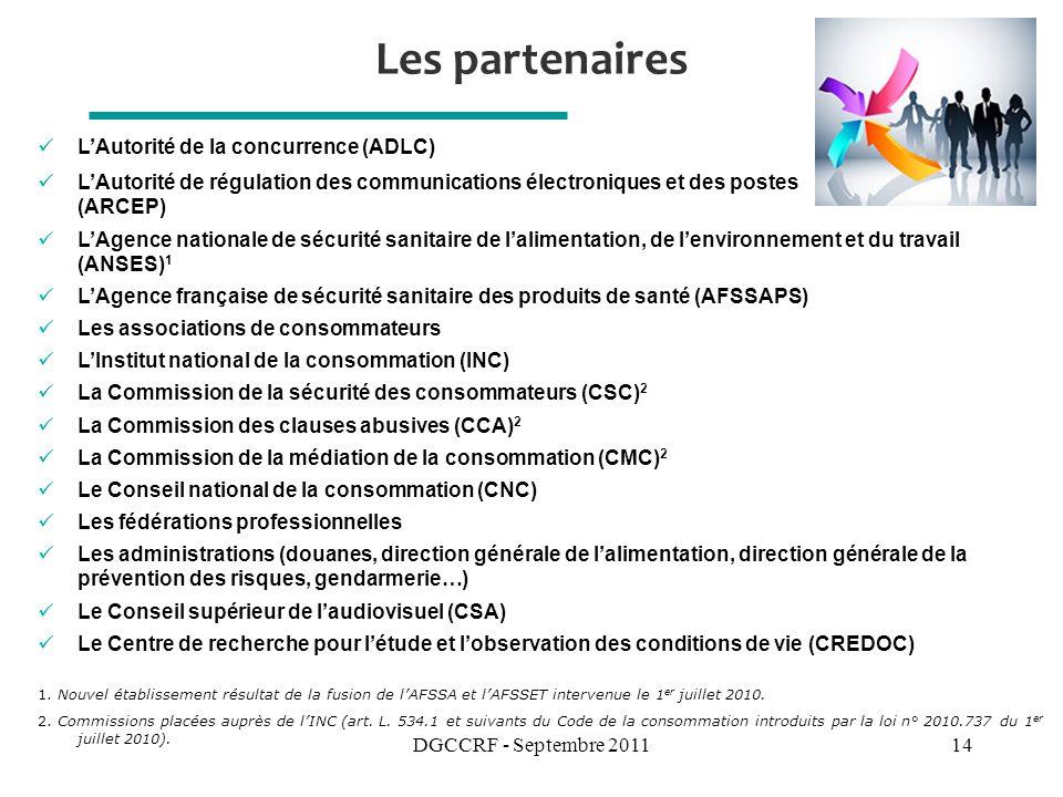 Les partenaires L'Autorité de la concurrence (ADLC)