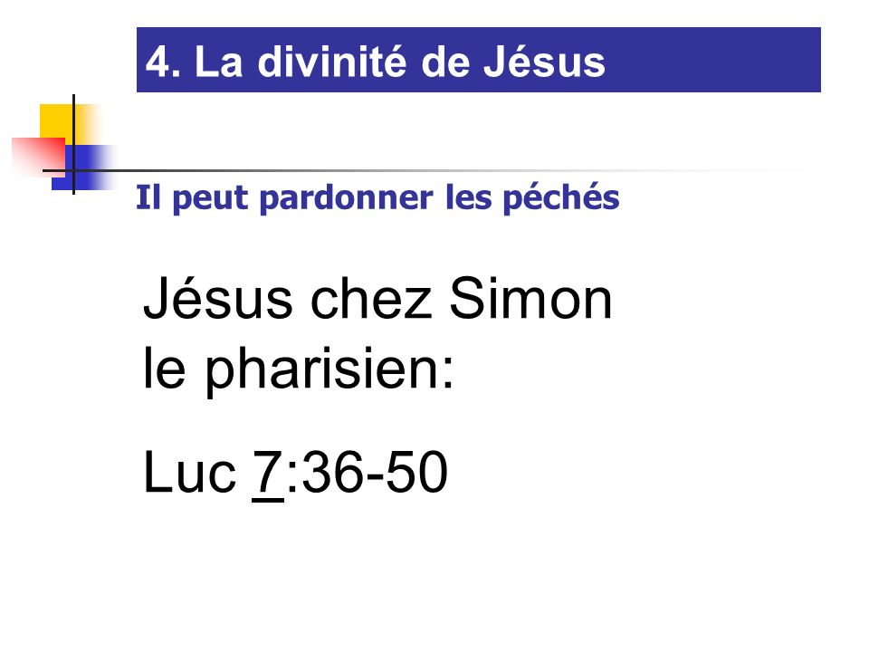 Jésus chez Simon le pharisien: Luc 7:36-50