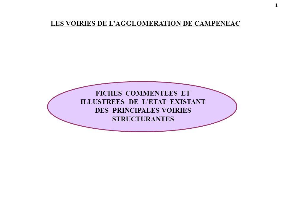 LES VOIRIES DE L'AGGLOMERATION DE CAMPENEAC