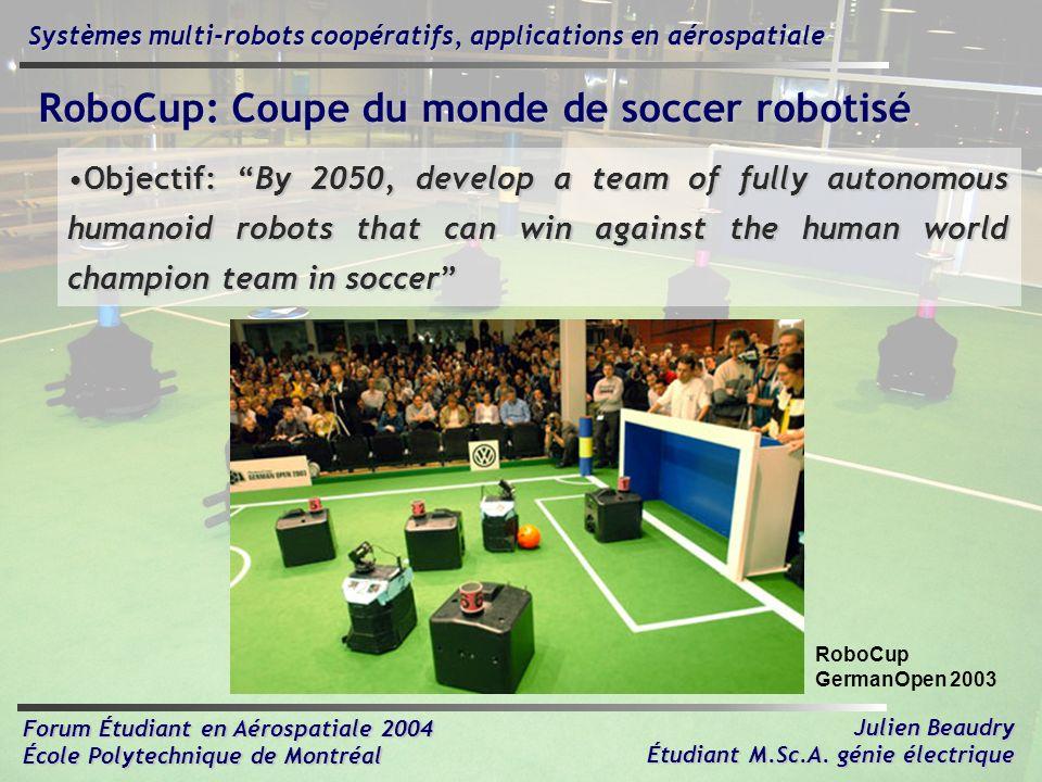 RoboCup: Coupe du monde de soccer robotisé