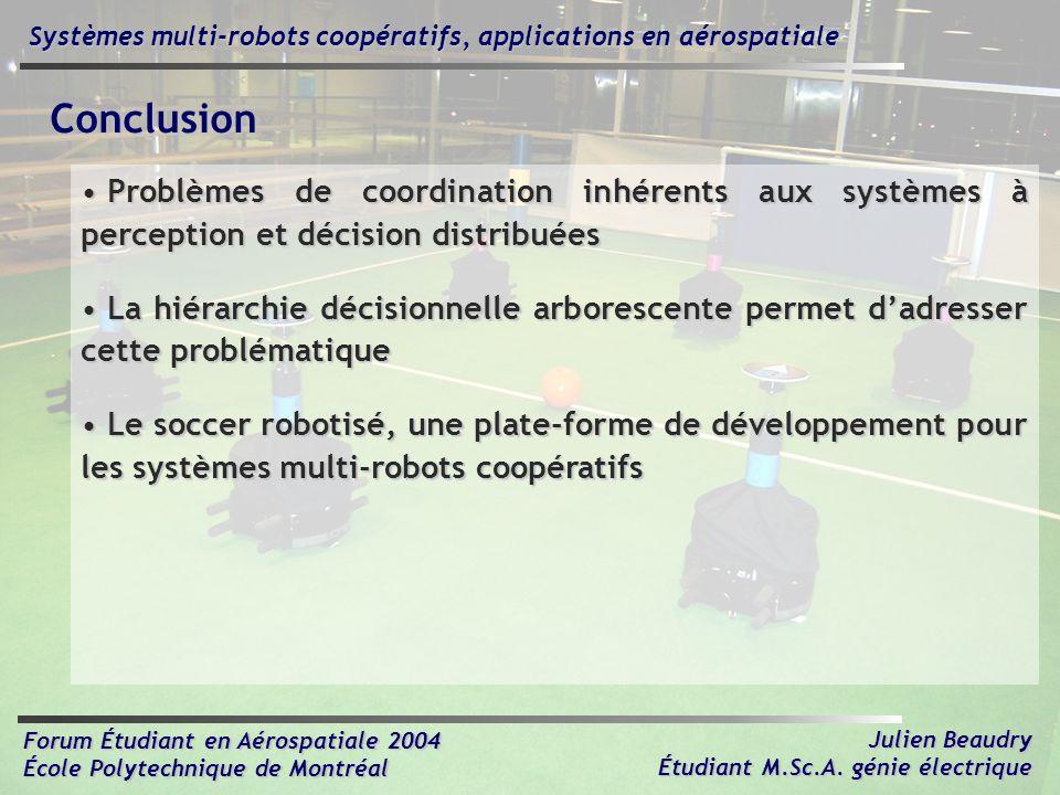 Systèmes multi-robots coopératifs, applications en aérospatiale
