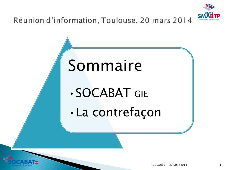 Réunion d'information, Toulouse, 20 mars 2014