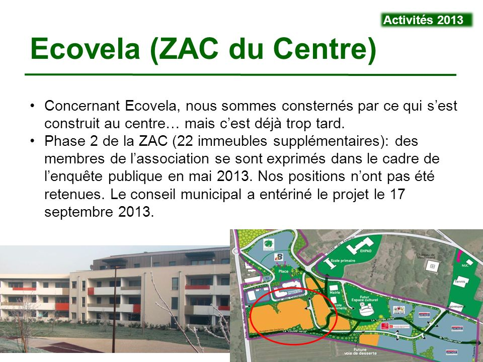 Ecovela (ZAC du Centre)