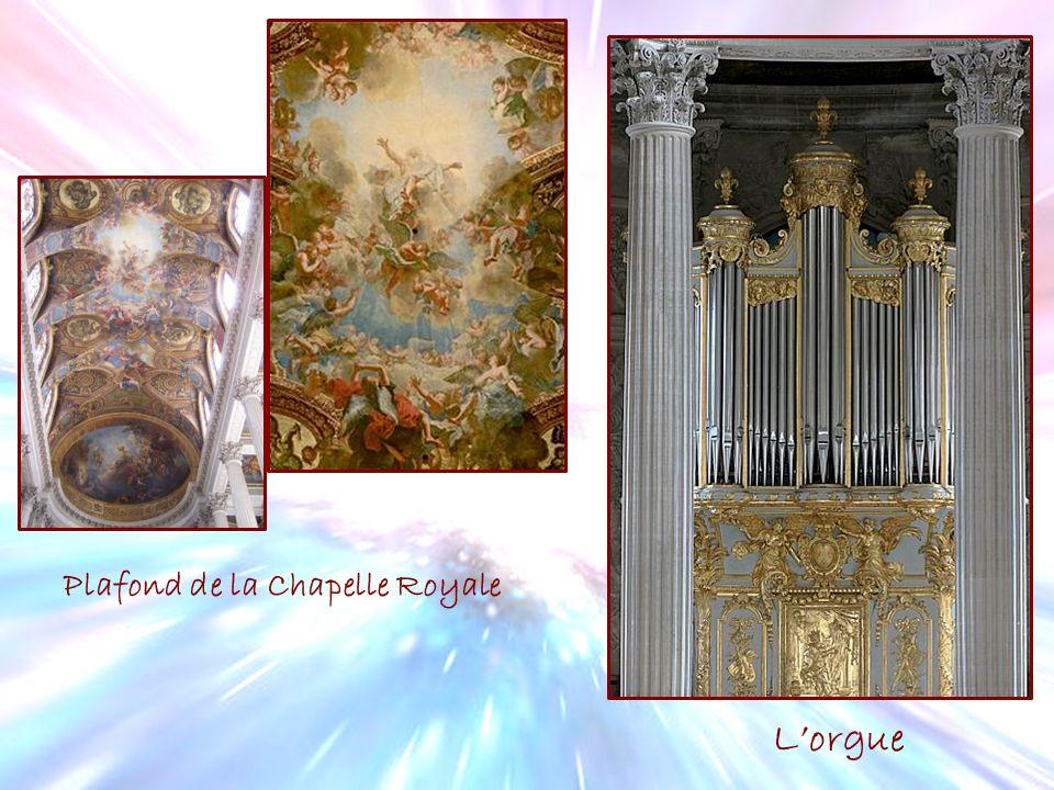 Plafond de la Chapelle Royale