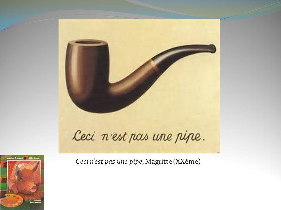 Ceci n'est pas une pipe, Magritte (XXème)