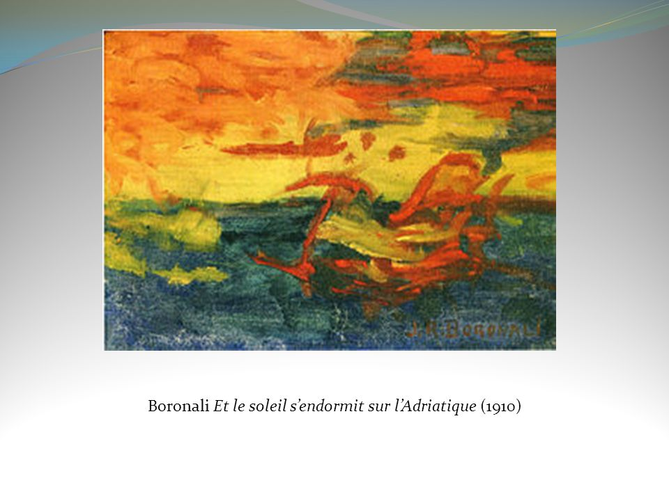 Boronali Et le soleil s'endormit sur l'Adriatique (1910)