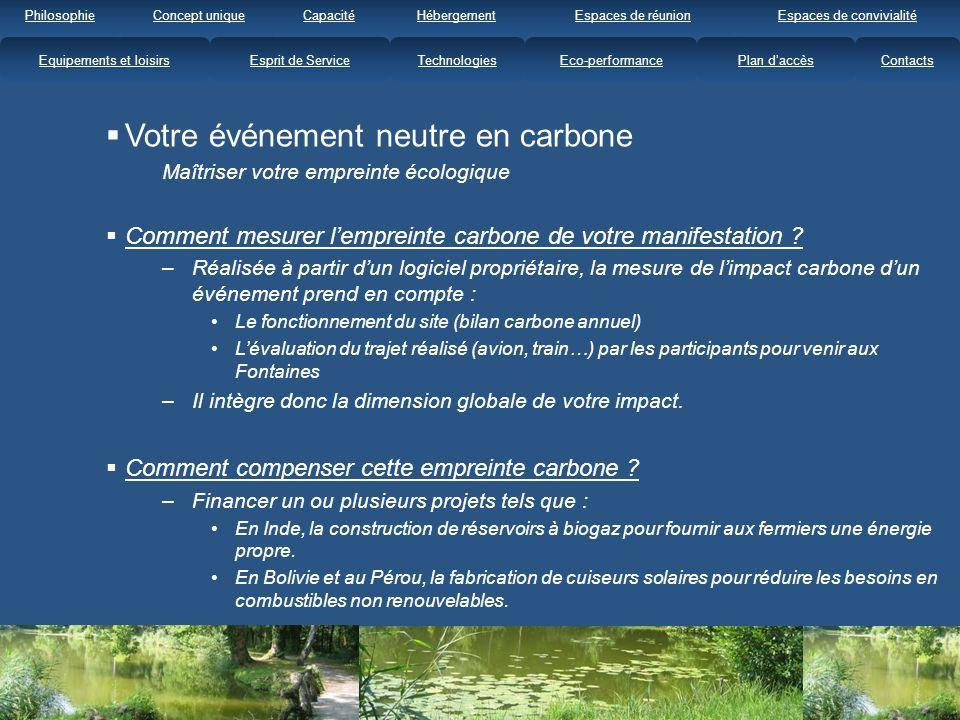Votre événement neutre en carbone