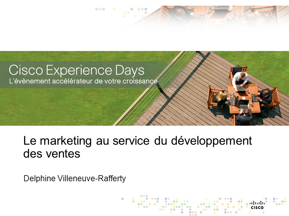 Le marketing au service du développement des ventes