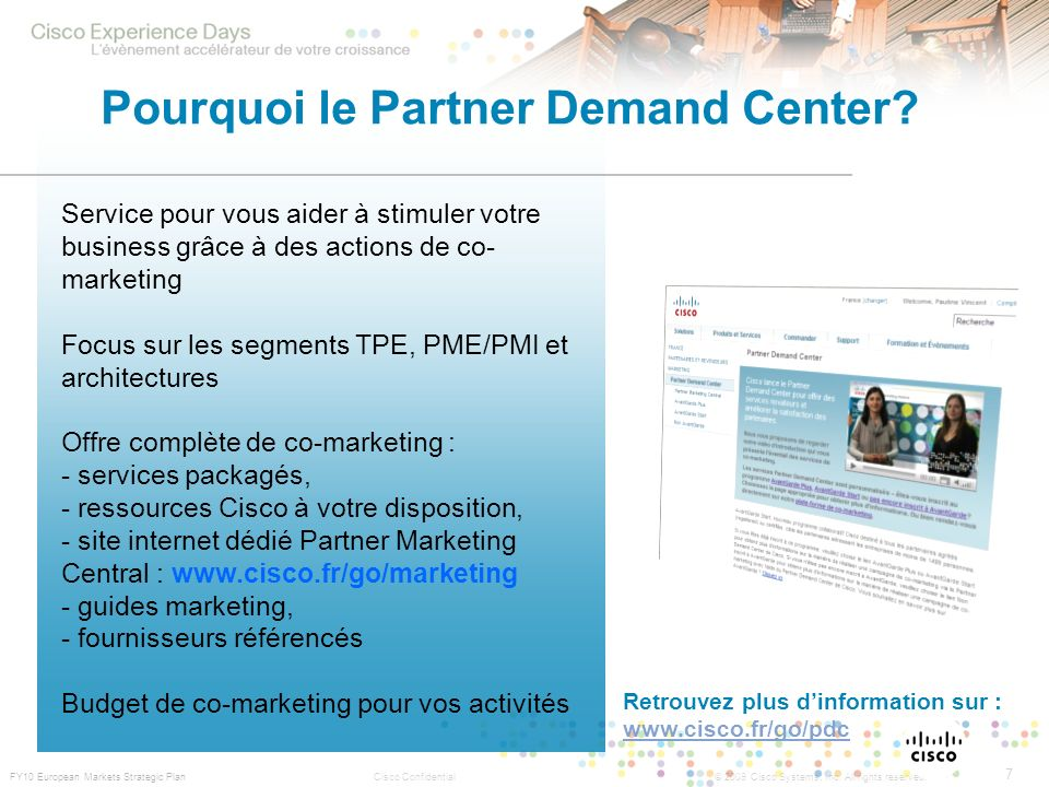 Pourquoi le Partner Demand Center