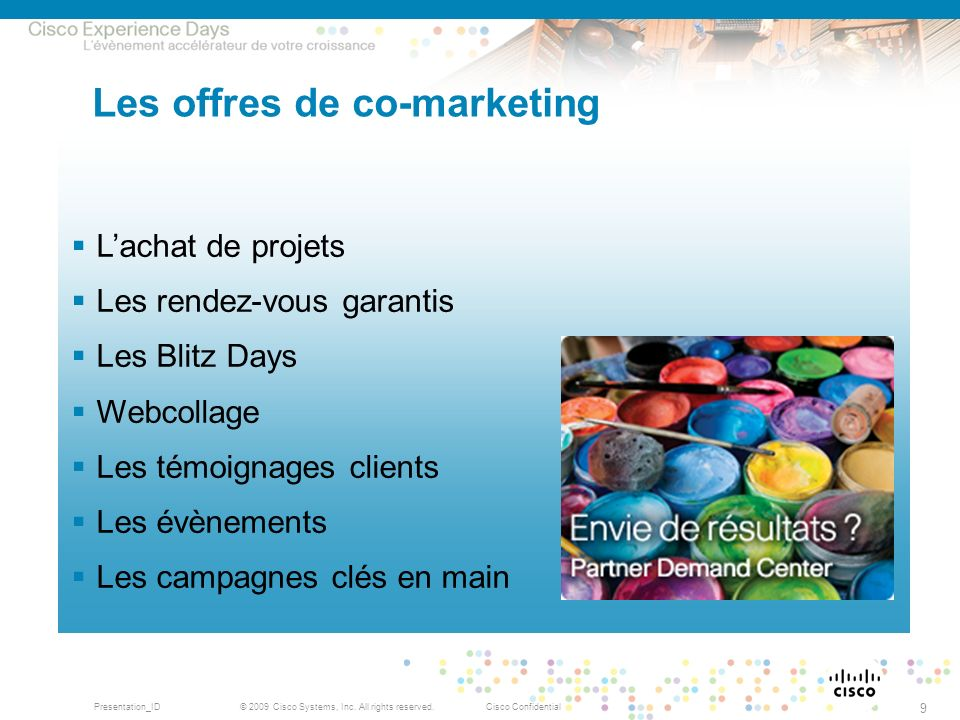 Les offres de co-marketing