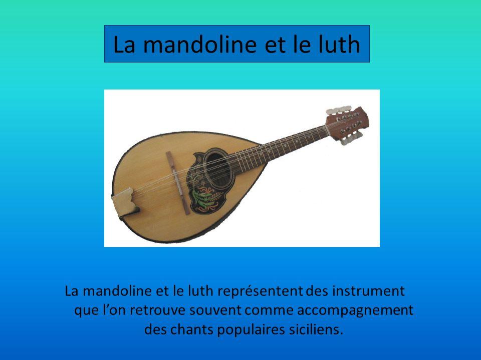 La mandoline et le luth
