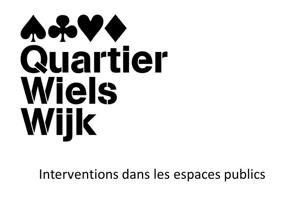 Interventions dans les espaces publics