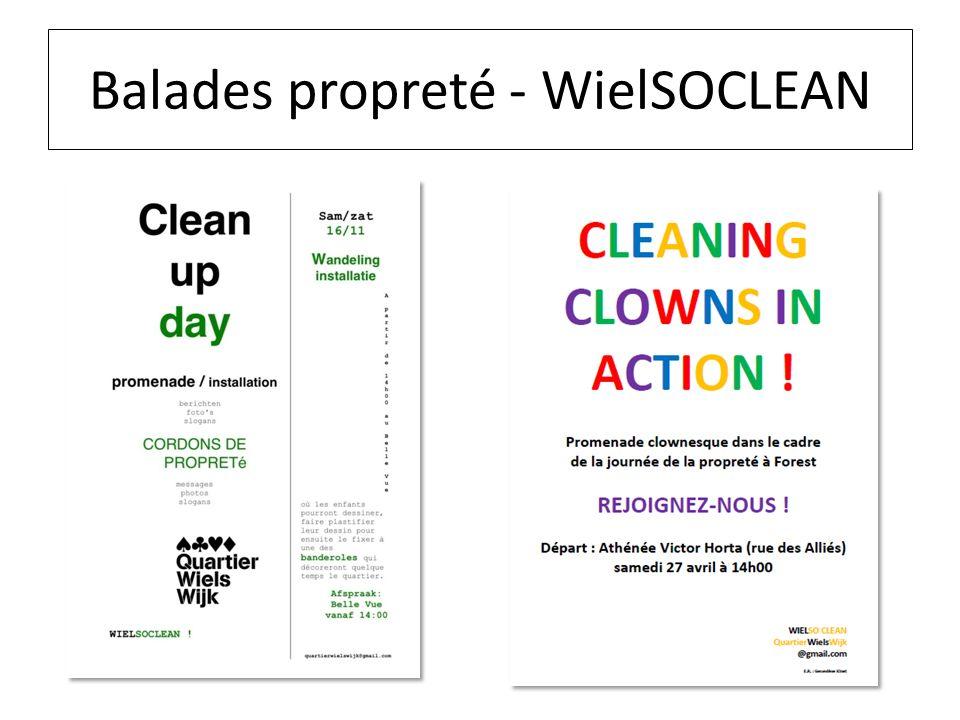 Balades propreté - WielSOCLEAN