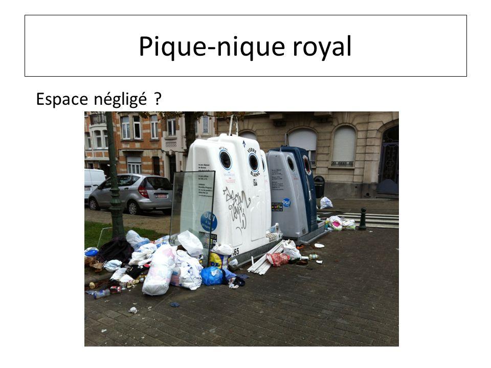 Pique-nique royal Espace négligé