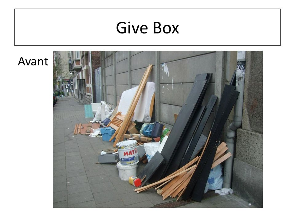 Give Box Avant