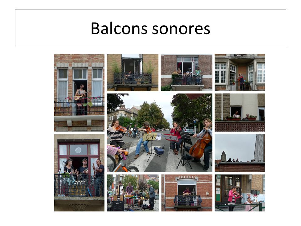 Balcons sonores