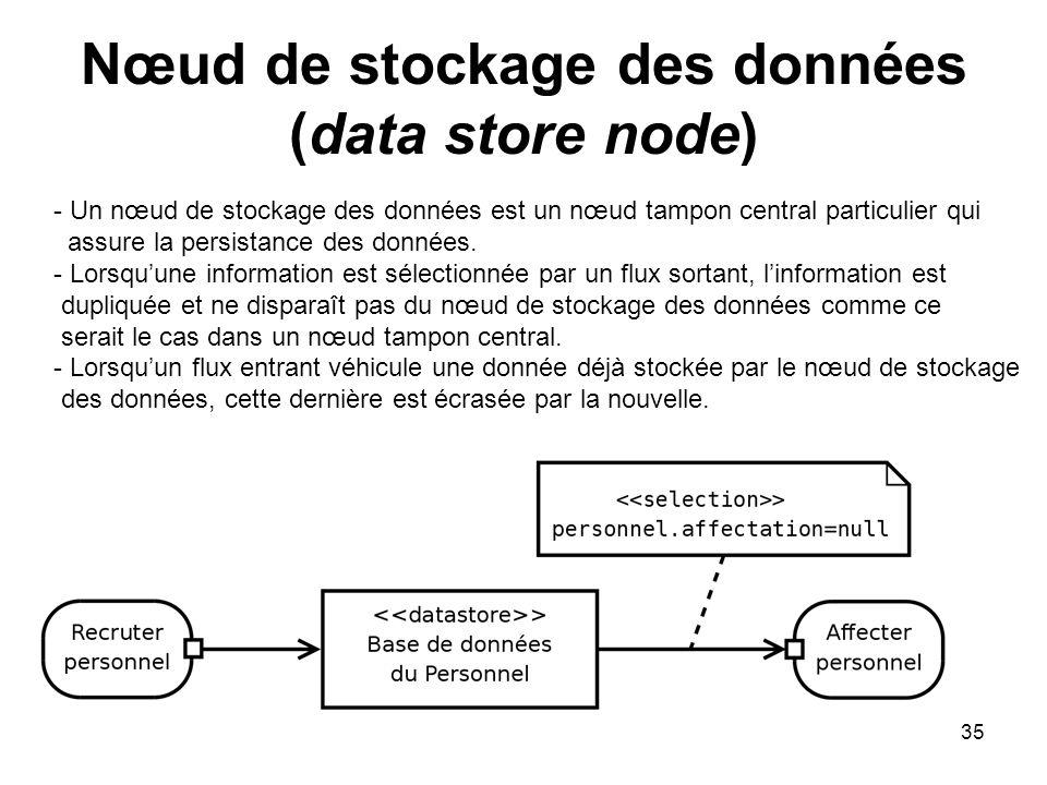 Nœud de stockage des données (data store node)