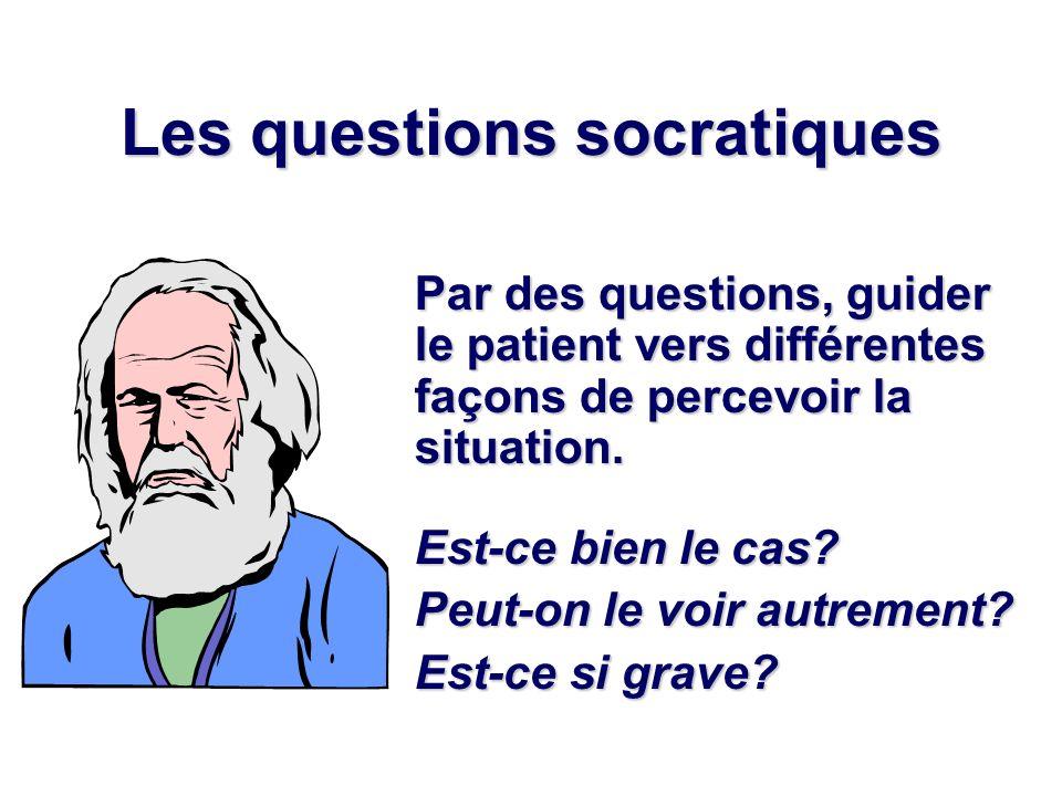Les questions socratiques