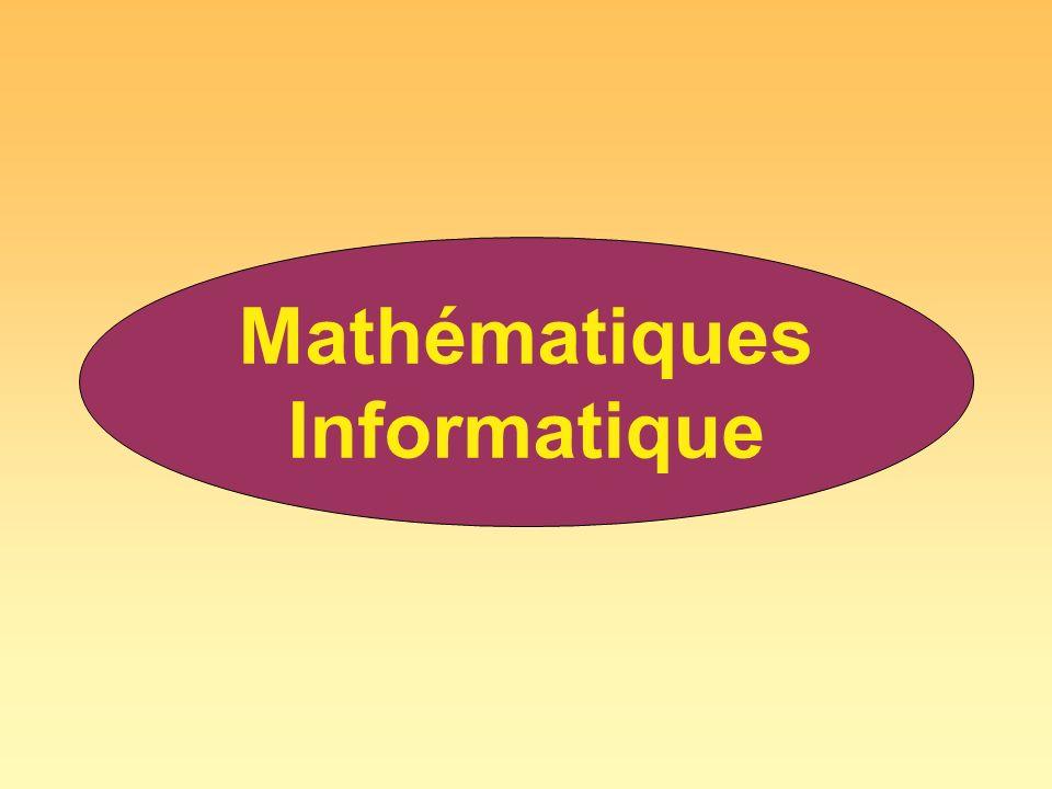Mathématiques Informatique