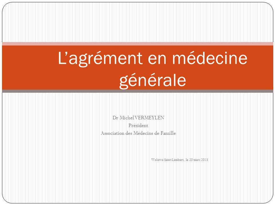 L'agrément en médecine générale