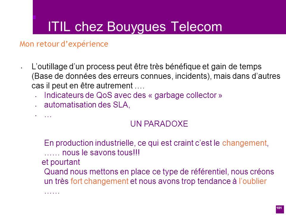 ITIL chez Bouygues Telecom
