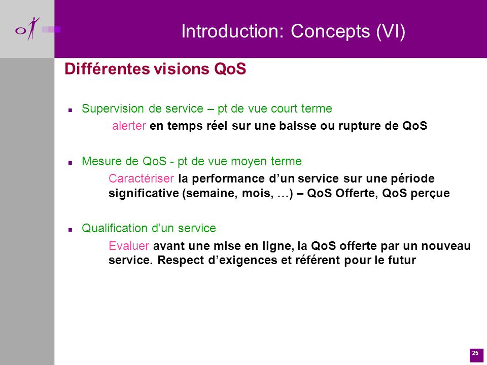 Introduction: Concepts (VI)