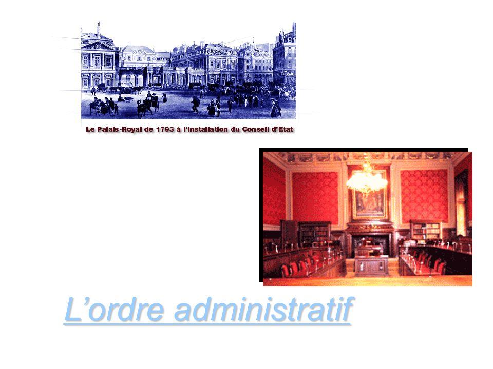 L'ordre administratif