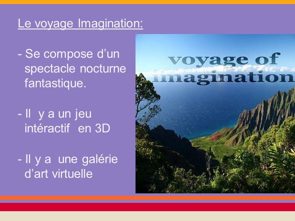 Le voyage Imagination: