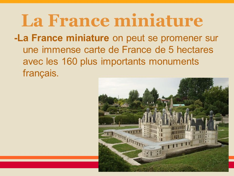 La France miniature