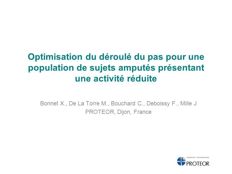 Bonnet X., De La Torre M., Bouchard C., Deboissy F., Mille J