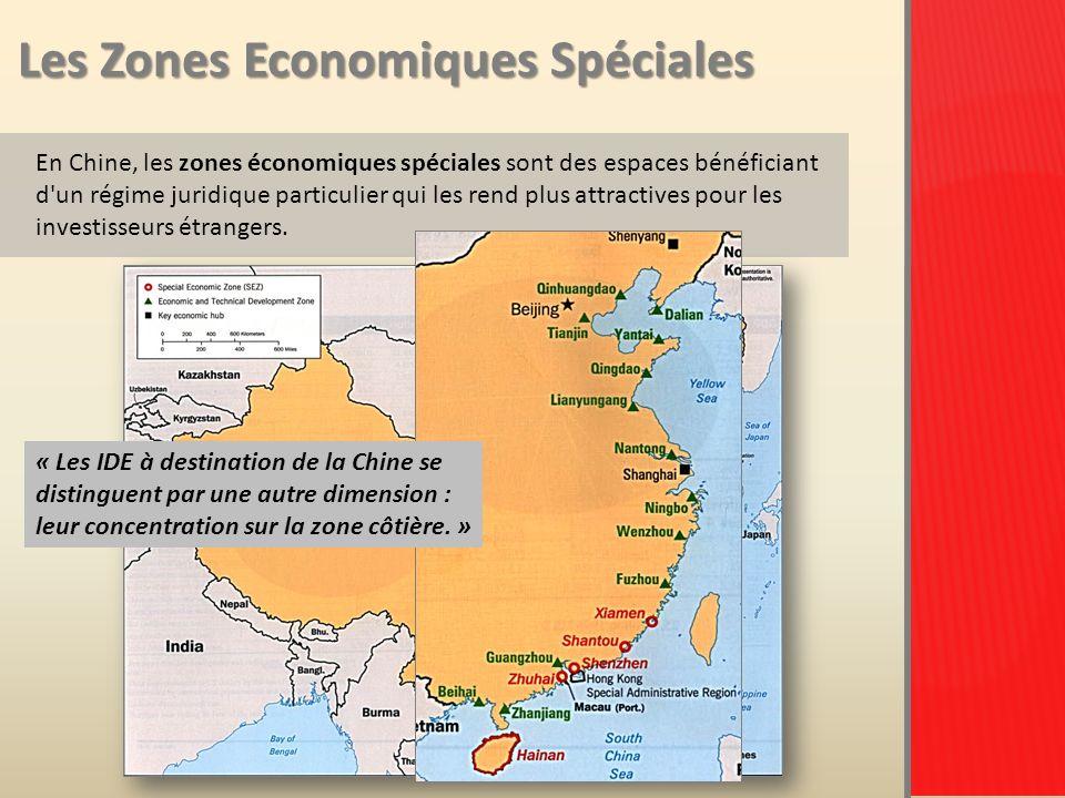 Les Zones Economiques Spéciales