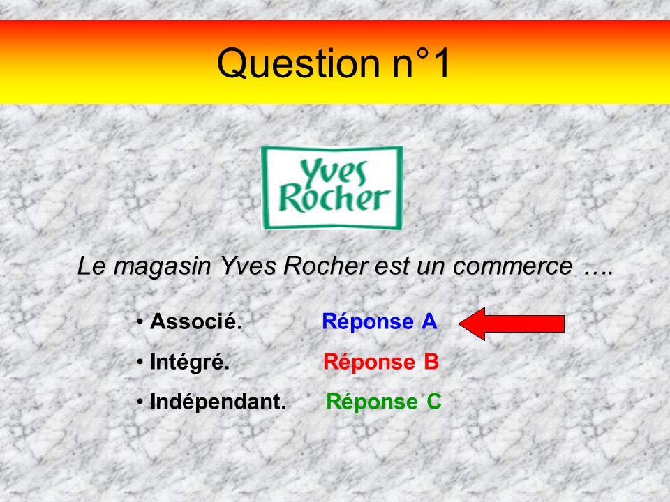 Le magasin Yves Rocher est un commerce ….