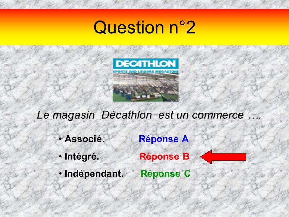 Le magasin Décathlon est un commerce ….