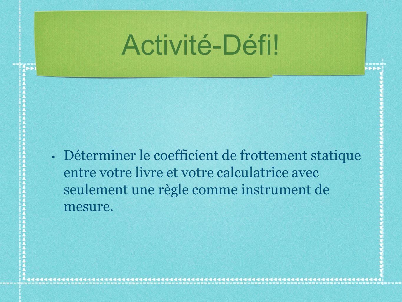Activité-Défi!