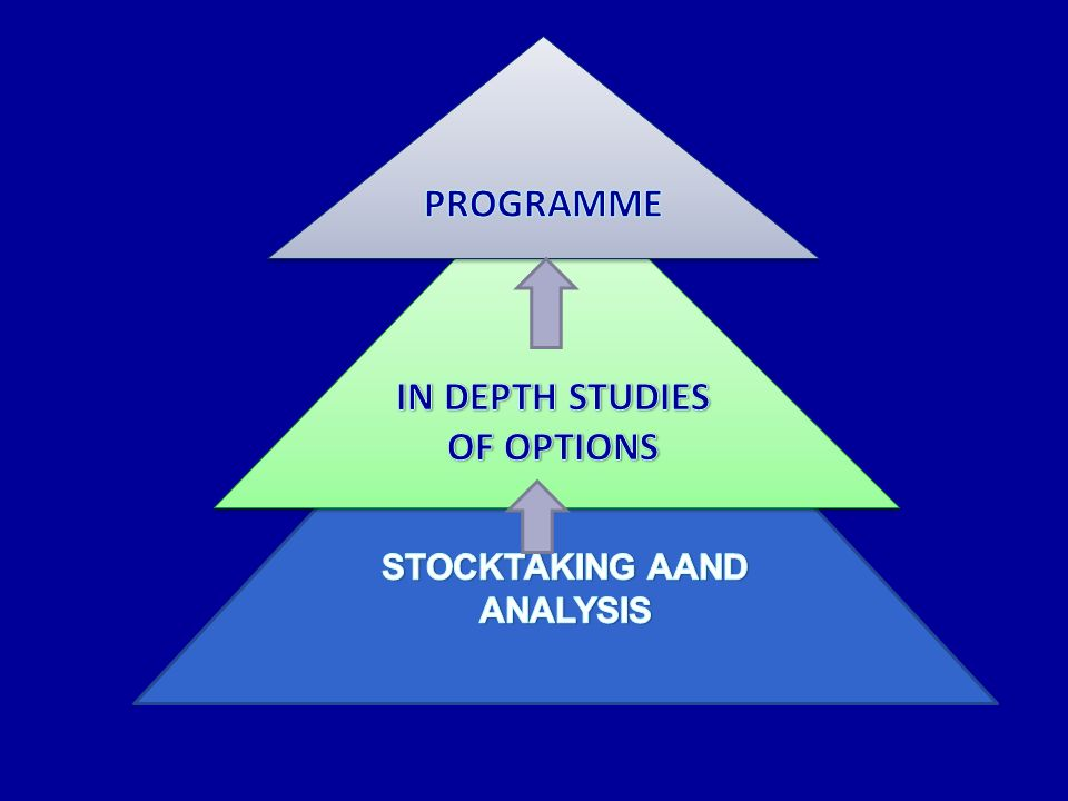 STOCKTAKING AAND ANALYSIS IN DEPTH STUDIES OF OPTIONS